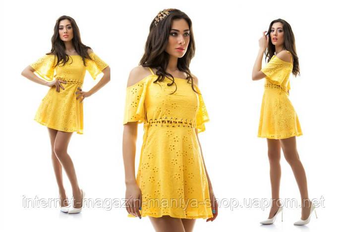 Женское платье батист в 5 расцветках