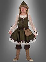 Детский костюм Робин Гуд для девочки