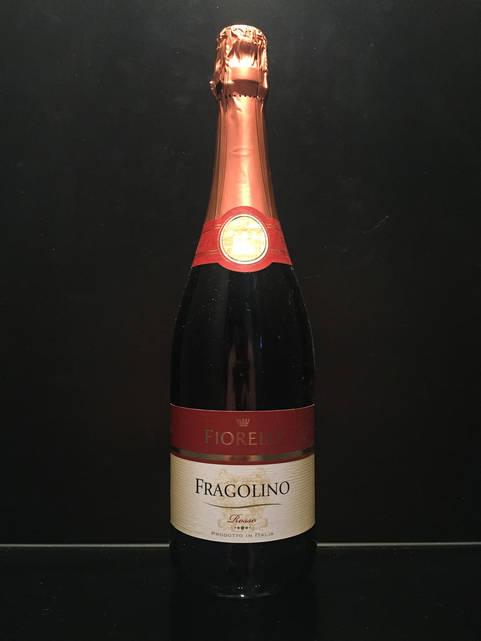 Фраголино Земляничное Шампанское Fragolino Fiorelli Rosso 0.75л