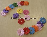 Цветы из фетра многолистные, фото 1