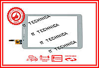 Тачскрин 210x121mm 6pin CTP080266-05 БЕЛЫЙ