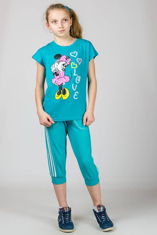 Футболка детская для девочки Микки Маус