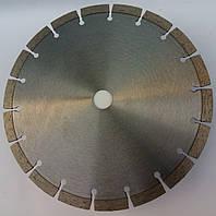 Алмазный диск для резки,бетона, кирпича   230x2,8/1,8x10x22,23-(18)