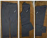 Бриджи спортивные женские эластан. Черные. Мод. 3025., фото 3