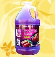 Соус чилі солодкий, для курки, гостро-солодкий,Asian Sweet Chilli Sauce, Mizkan, 3,78л, Мо