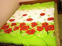 Полуторное одеяло Теп холлофайбер ткань бязь