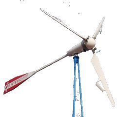 Вітрогенератор FLAMINGO AERO-4.4 (1,6 кВт) з інвертором (5 кВт) + АКБ