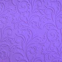8404 Текстурный коврик Ажурный Завиточек 580*380мм, кондитерские принадлежности