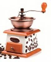 Кофемолка ручная с керам.ящиком, кухонная посуда