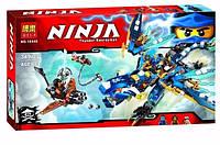 Конструктор Bela серия NINJA / Ниндзя 10446 Дракон Джея (аналог Lego Ninjago 70602)