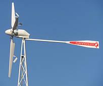 Ветрогенератор FLAMINGO AERO-6.7 (4 кВт) с инвертором (6 кВт) + АКБ