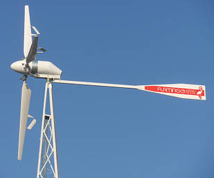 Ветрогенератор FLAMINGO AERO FA-9.0 (8 кВт) с инвертором (10 кВт) + АКБ