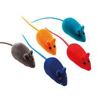 Игрушка Comfy мышь с пищалкой для кота, 6 см.