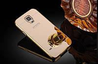Чехол-бампер для телефона+зеркальная задняя крышка Samsung Galaxy S5 G900