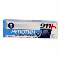 911 Гель от потливости ног с дезодорирующим эффектом  Твинс Тэк Непотин 100мл (4607010243081)