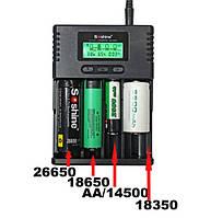 Зарядное Soshine H4 для Li-ion - LiIFePO4 - C AA AAA NiMH NiCd аккумуляторов SKU0000223