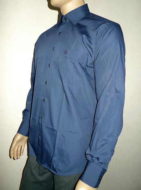 Синяя мужская сорочка