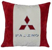 Автомобильная подушка с логотипом  mitsubishi