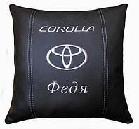 Подушка сувенирная в авто toyota тойота