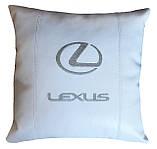 Сувенирная Подушка автомобильная с логотипом lexus лексус, фото 2