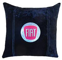 Сувенирная подушка с логотипом фиат fiat