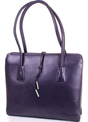 Женская кожаная сумка DESISAN (ДЕСИСАН) SHI062-6FL синий