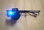 Очна сервіс лупа 20Х у вигляді окулярів з світлодіодним підсвічуванням, фото 4