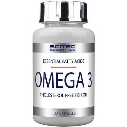 Omega 3 Scitec Nutrition 100 caps, фото 2