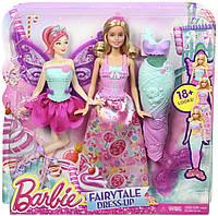 Barbie Fairytale Dress Up Barbie Doll Принцесса Барби в сказочных костюмах серии Миксуй и комбинируй