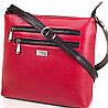 Женская кожаная сумка DESISAN (ДЕСИСАН) SHI3130-1FL красная