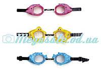 Очки для плавания детские Intex, 3 цвета: от 3 до 8 лет + УФ защита (Intex 55603)