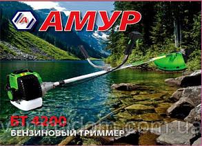 Бензокоса Амур БТ-4200 (1 нож+1 катушка с леской)