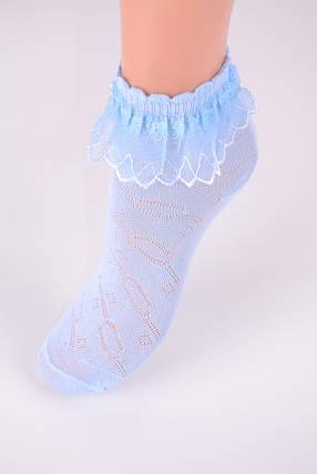 Детские носки с оборкой р.18-20 (D3017/18-20) | 10 пар, фото 2