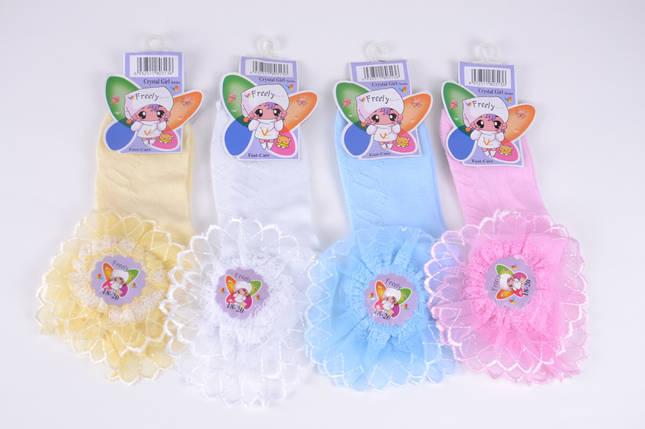 Детские носки с оборкой р.16-18 (D3017/16-18) | 10 пар, фото 2