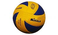 Мяч волейбол. Клееный MIK VB-1844 MVA-300 (PU, №5, 3 слоя)