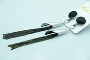 Женские длинные серьги цепочки оптом недорого. Модные удлинённые серьги от бижутерии оптом RRR.