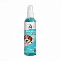 Спрей освежающий для собак с ароматом присыпки, 8in1, 118 мл