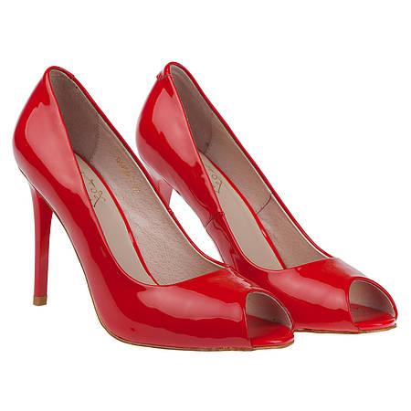 Лаковые туфли на шпильке Lili Mars