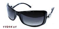 Черные солнцезащитные очки женские