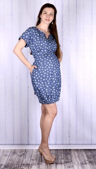 0ccd4834d10c Джинсовое платье для беременных - HAPPY MAMA - одежда для беременных и  кормящих, одежда для