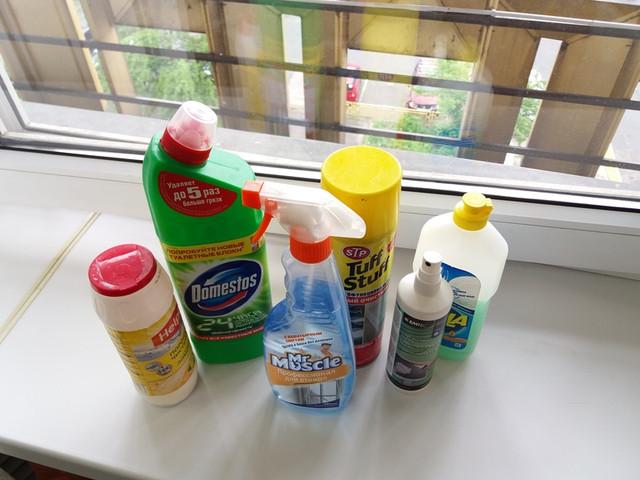 Средства для мытья подоконников