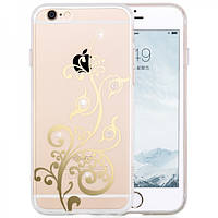 Чехол для iPhone 6/6S Plus - Hoco Super star series (Plating Inlay Diamond Soaring)