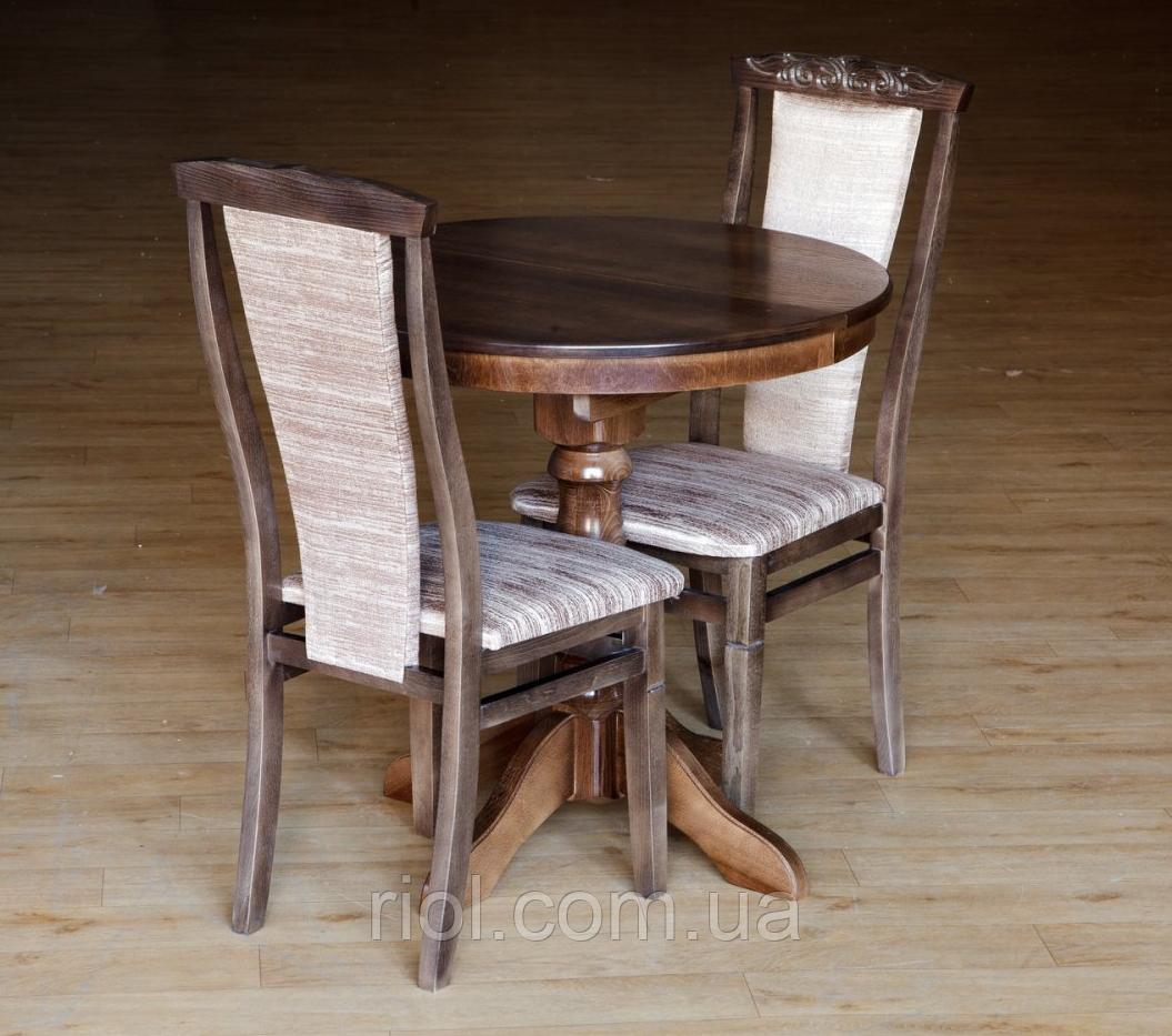 Стол обеденный Чумак (темный орех)