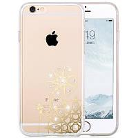 Чехол для iPhone 6/6S Plus - Hoco Super star series (Plating Inlay Diamond Windmill)