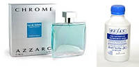 217, Наливная парфюмерия Refan Мужская парфюмированная вода Рефан  CHROME / AZZARO