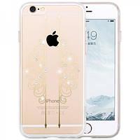 Чехол для iPhone 6/6S Plus - Hoco Super star series (Plating Inlay Diamond Symmetric Cloud)