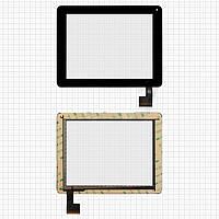 Touchscreen (сенсорный экран) для Modecom FreeTab 8001 3G, 50 pin, оригинал (черный)