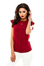 Однотонная летняя блузка, фото 2