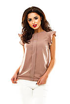 Однотонная летняя блузка, фото 3