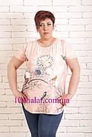 Женская футболка красивая, фото 1